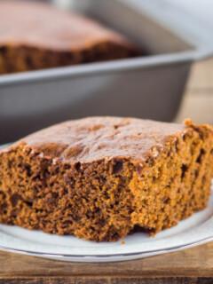 Moist Gingerbread Cake Recipe