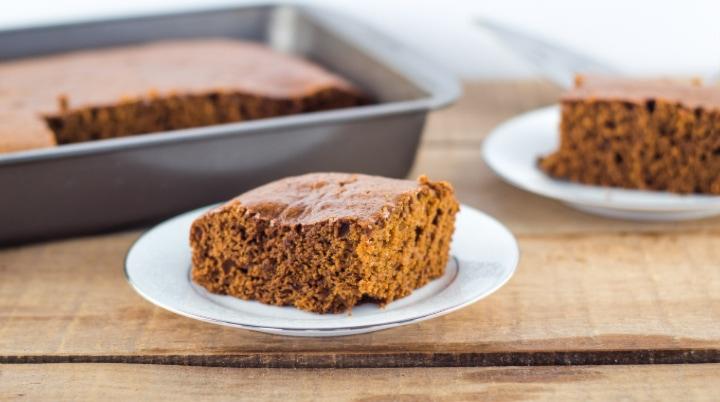 Moist Homemade Gingerbread Cake