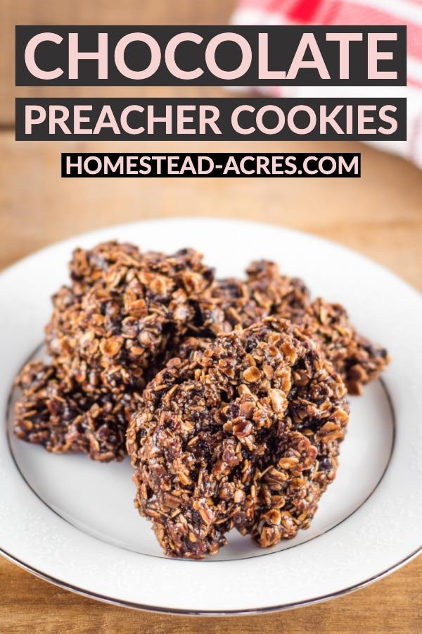 Chocolate Preacher Cookies