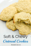 Soft and Chewy Oatmeal Cookie Recipe. This oatmeal cookie recipe is so good, really! It's been a family favourite recipe for years. | www.homestead-acres.com