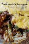 This Taco Twist Casserole is a family favourite recipe. It's so quick and easy to make and freezes great to! | www.homestead-acres.com