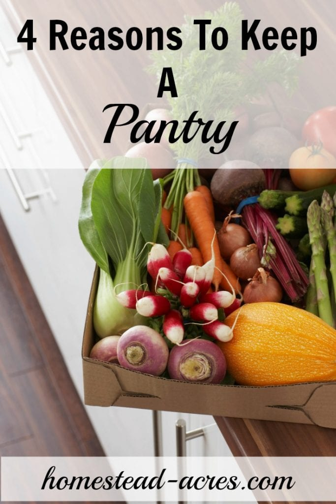 4 important reasons you should keep a pantry. | www.homestead-acres.com