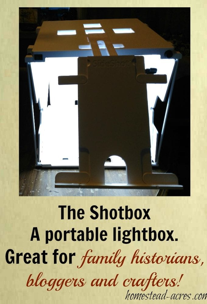 The Shotbox A Portable Light Box – Review