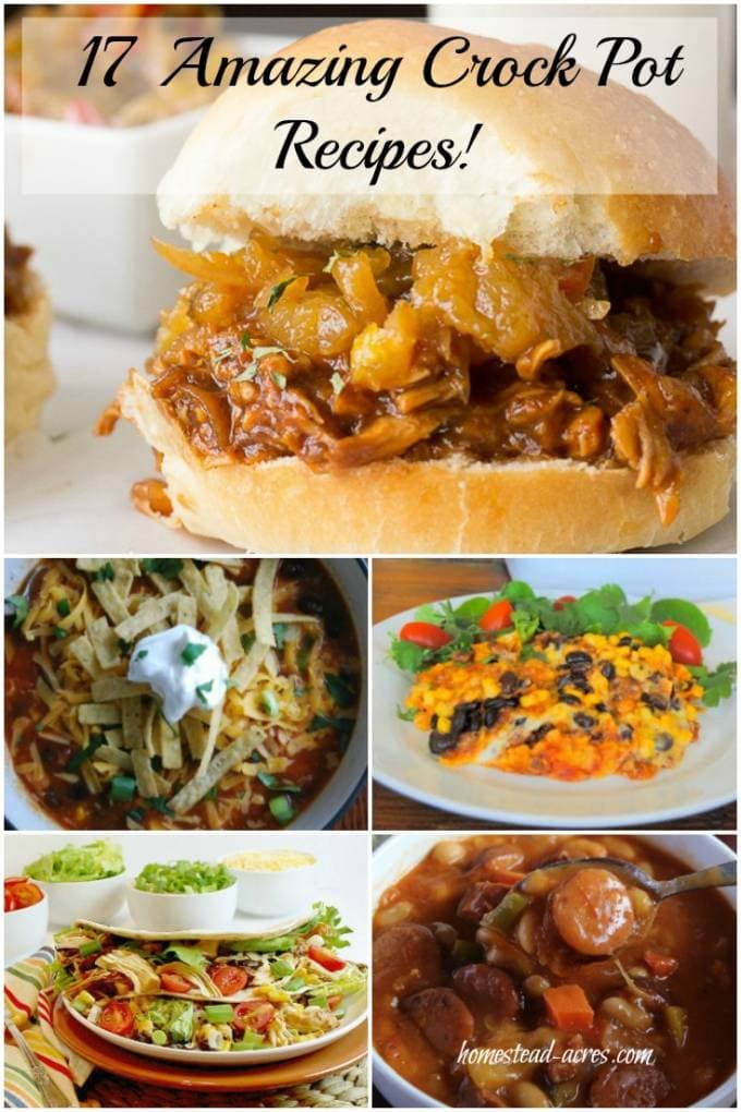 Simplify Dinner With 17 Amazing Crock Pot Recipes!