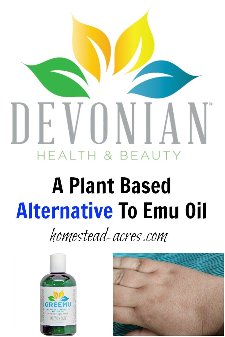 Looking for a plant based alternative to emu oil? GREEMU is a vegan alternative that has really helped my eczema! | www.homestead-acres.com