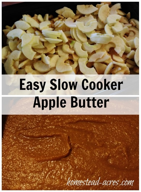 Easy Slow Cooker Apple Butter recipe. Apple butter is so easy to make ...