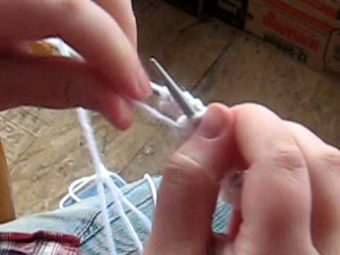 Learn To Knit The Purl Stitch Homestead Acres