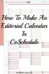 Building Your Editorial Calendar With CoSchedule