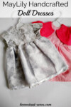 MayLily Handcrafted Doll Dresses For 18 Inch Dolls