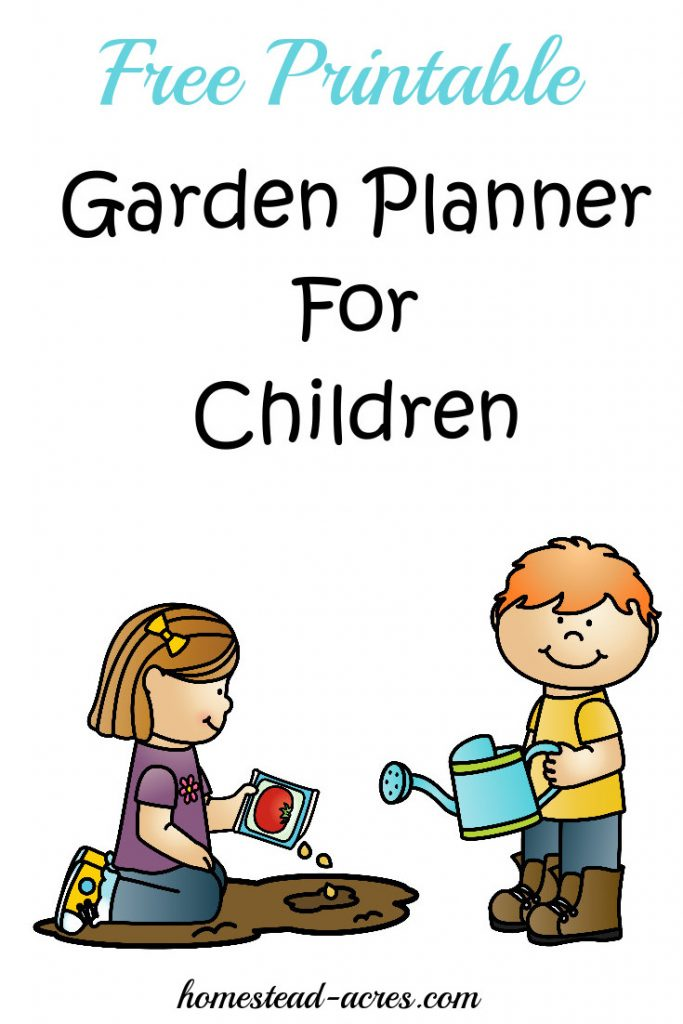 Do you have a hard time getting your children to eat vegetables? Your not alone! I used to really struggle with this but I learned the easiest way to get children excited about eating vegetables is to let them help grow their own food! Download your free printable garden planner for kids and get started with this list of 12 easy plants for children to grow.   www.homestead-acres.com
