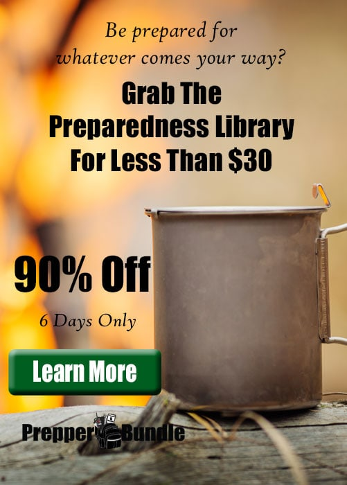 Save huge on a prepping and homesteading resource library.