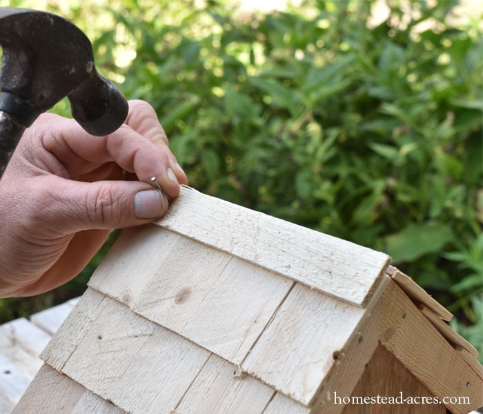 Birdhouse Planter Roof Trim