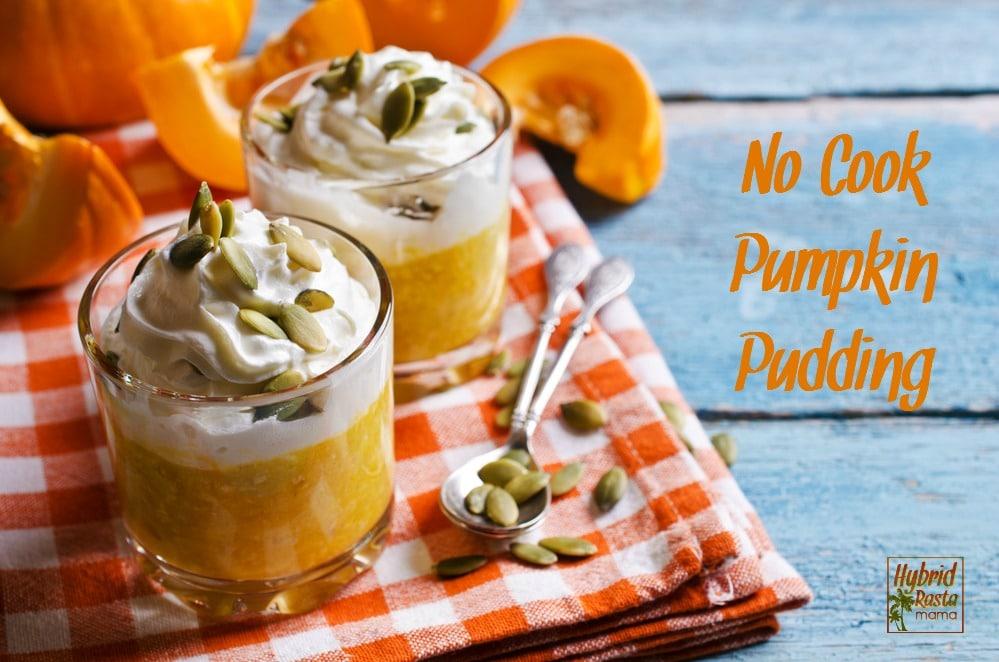 No-Cook Pumpkin Pudding