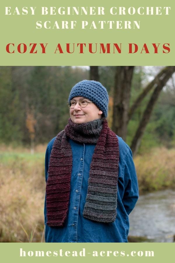 Easy Beginner Crochet Scarf-Pattern