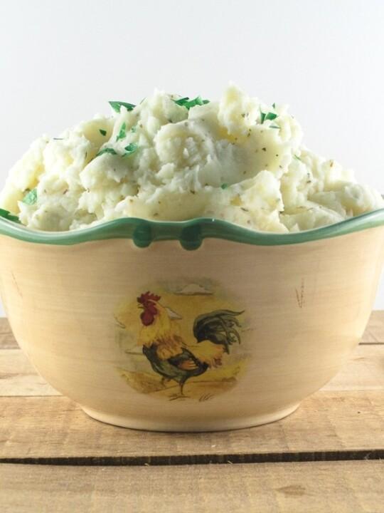 Easy Garlic Mashed Potatoes Recipe