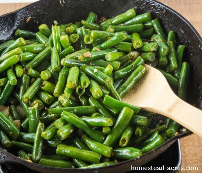 Garlic Green Beans Recipe Side Dish