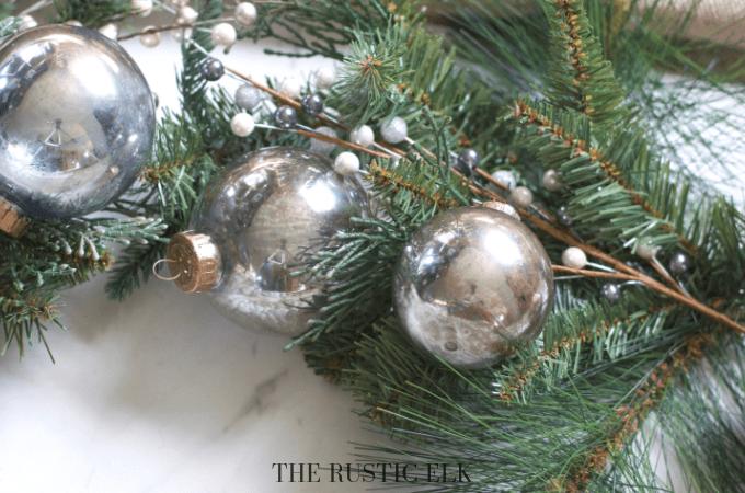 DIY Mercury Glass Christmas Ornaments