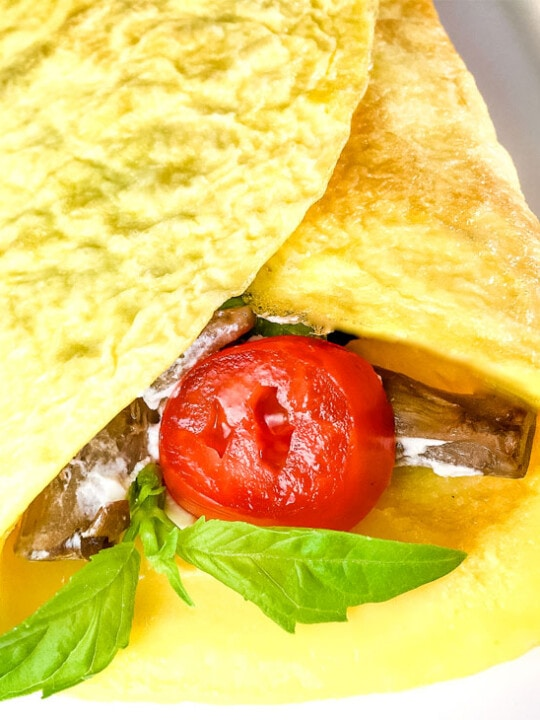 Quick and easy grain free crepes recipe