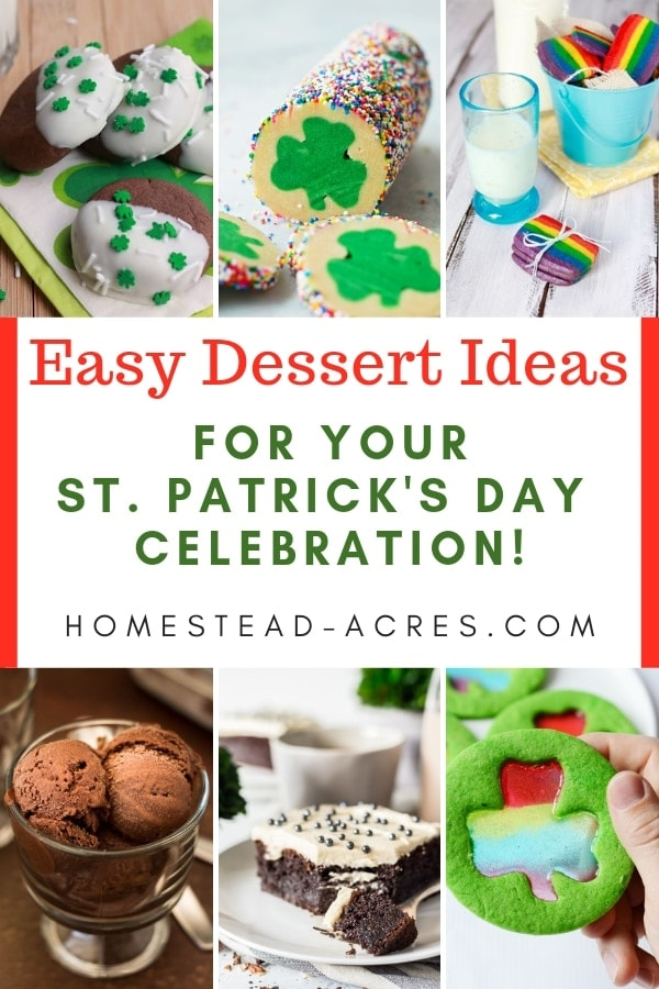 Easy St. Patrick's Day dessert ideas for your party