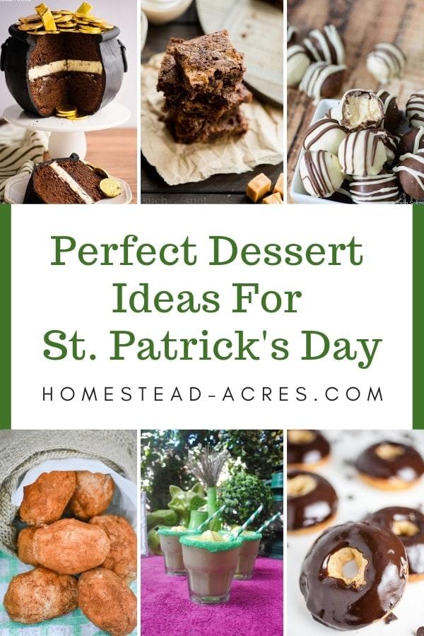 Perfect dessert ideas for St. Patrick's Day celebration