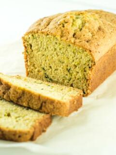Easy Moist Zucchini Bread Homemade Recipe