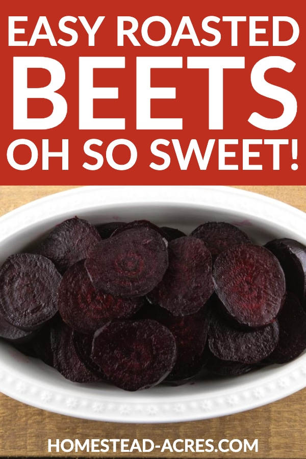 Easy Roasted Beets Sweet