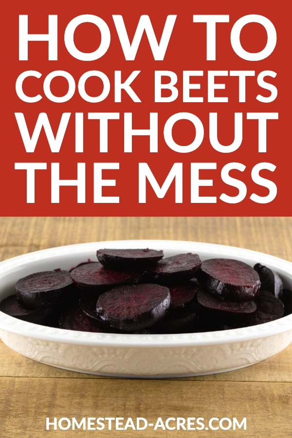 How To Cook Beets Without The Mess