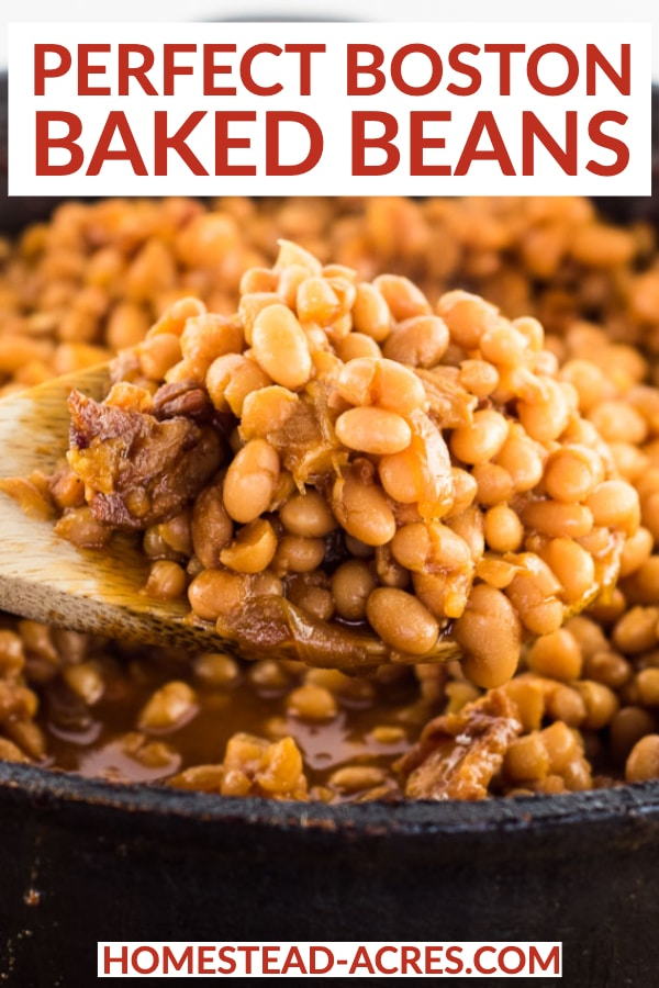 Perfect Boston Baked Beans
